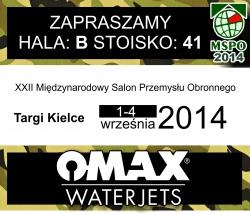 OMAX zaprasza na targi MSPO w Kielcach